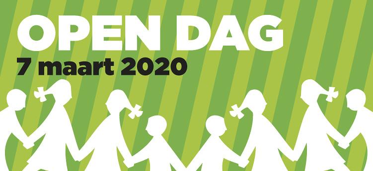 Open dag zaterdag 7 maart 2020