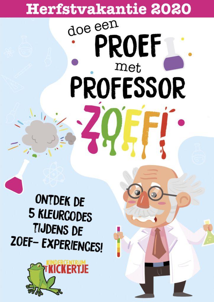 Doe een proef met professor Zoef